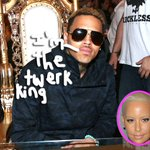 #AmberRose twerks ALL over #ChrisBrown in the club! Watch the SEXY footage HERE! http://t.co/njfnUhJkmS http://t.co/wdanvpw4JN
