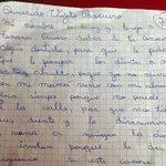 La tierna carta en la que una niña le pide al Viejito Pascuero dientes para su abuelita -->http://t.co/hzzUWyGdRA http://t.co/XQLs2iB19N