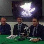 Rueda de Prensa del Srio de Cultura, Rubén Pérez, Xavier Tudela, Pdte. del CCorg y Enrique Flamand , Rpte campeche. http://t.co/F0ozjWqi7j