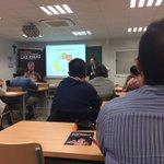 Inicio del taller ¿Tienes una idea? en el Instituto Tecnológico de #Murcia @UCAM_ITM @UCAM http://t.co/yOVBLeapU5