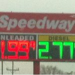 Looking for cheap gas? Try Lee Highway near 153. http://t.co/VlwOs0pCir