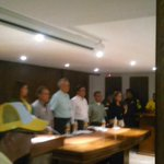A esta hora en el lanzamiento del Plan Vial Navidad Segura en Sucre http://t.co/oFvKZz7ucA