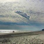 Hole punch cloud? Looking south from Surfside pier. @EdPiotrowski @jamiearnoldWMBF @WxMartha @WX_BrittneyB http://t.co/eGxzl68ivt