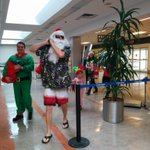 Santa showed up at @flyyhm just back from Puerto Plata this morning with @airtransat #experiencetransat http://t.co/gE6bpMlUvs