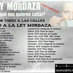 @LA_PAH @PAH_Burgos se suma a la convocatoria #20DFueraMordazas CALENDARIO cc http://t.co/MhiKdjm6co #LeyMordaza http://t.co/OzKN1ngKB2