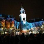 La Mairie est illuminée ce soir. #Rennes http://t.co/jfCx5Q0W2l