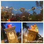 Christmas cheer in @downtownarcadia on the way in this am. #ArcadiaCA #APDCA #poltwt ^TL http://t.co/LgO59K6sOI