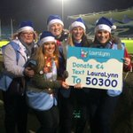 Text LAURALYNN to 50300 to donate €4 in support of #BlueSanta #lauralynn @leinsterrugby! #LeinvCon #COYBIB http://t.co/6jZVZWGOGX
