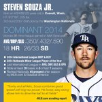 That fancy catch was nice and all, but @StevenSouzaJR isnt a one-trick pony. Look what else he can do: http://t.co/mnaxJoxPSv