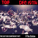 Pine Bluff High Championship Party || After the Pine Bluff High vs DollarWay Game $5 Starting Off ! http://t.co/T35wB49vUl