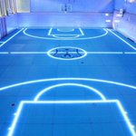 RT @Tech_Craves: LED lit floor allows for changes in the lines and markings. Switch from basketball to volleyball easily!