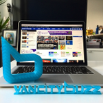 Pretty rad 3D print of our @VancityBuzz logo by #Vancouvers @tinkerines! http://t.co/vb2IYVhQbO http://t.co/5K1YoB6vA4