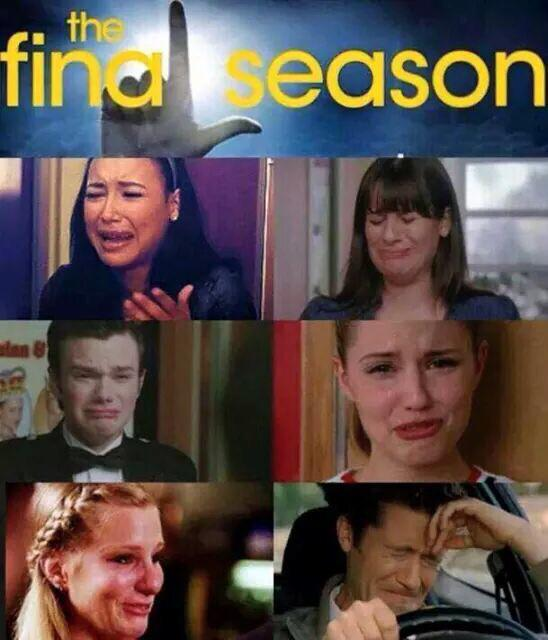 The tears!! Oy!! Glee is coming soon... http://t.co/bLdgEVSGYa