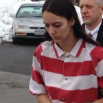 Says nothing as she enters... Arraignment set to start any moment @CBS6Albany http://t.co/xTsuUqZcGr