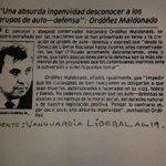 """Acabo de encontrarme esta perla del entonces concejal Ordóñez y su defensa de las """"Autodefensas"""" Difundir. http://t.co/ZPIMODBMKo"""