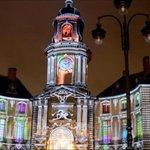 #Rennes : premières représentations du son et lumière sur la façade de lhôtel de ville http://t.co/Xi4KjhAf1u http://t.co/hLjnMBI4zy