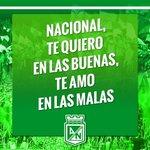 ¡Vamos Nacional, vamos verdolagas! http://t.co/qWBoPSUJou