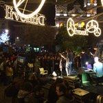 Por favor, como lo están pegando #TheMeatPies en el festival @LucesAccionFest Santo Domingo #Murcia http://t.co/GO7BmnVvAb