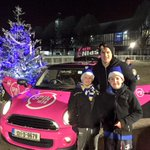 The #Spinis are soaking up the Christmas atmosphere down at the RDS where Leinster are taking on Connacht tonight!???????? http://t.co/ZIwzM52dud
