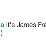 "Barack Obama called James Franco ""James Flacco."" Joe Flacco wants to set the record straight. http://t.co/qncGipeEcM"