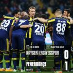 Maç Sonucu | Kayseri Erciyesspor 0-1 Fenerbahçe. Tebrikler #Fenerbahçe! http://t.co/NpUuHq6N1q