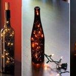 Cómo decorar la mesa navideña con botellas de vino | http://t.co/qg6C4zHg1D http://t.co/Qx9q9FmwGc