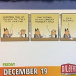 This is one of the best Dilbert cartoons ive had all year. http://t.co/W15B2LRPDH