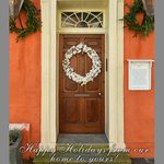From our home in #Charleston to yours, Happy Holidays! #95Broad http://t.co/kZCtOevOmV