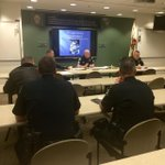 A few of the Team 1 officers and supervisors in briefing this morning. #poltwt ^TL http://t.co/7ucmkLPR2U