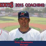 Doug Mientkiewicz named 2015 Lookouts Manager! Full staff and story here: http://t.co/tW9zKX9Zk5 #Lookouts #MNTwins http://t.co/uPr1IUUH9w