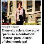 "@josefaerrazuriz consultó a ""Contraloria Interna"" para usa Palacio Falabela. Por error en asesoría debiera sacarlos http://t.co/5vghvZqxGW"""