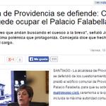 Alcaldesa Errazuriz dice que cualquier vecino podría usar Palacio Falabella… seguro que hay que tener tarjeta CMR http://t.co/shOX1ORxDF