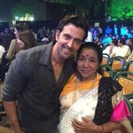 Bollywood @ 12 megapixels - @iHrithik with @ashabhosle