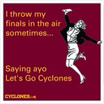 Happy Friday #cyclONEnation and congrats to all the Iowa State students who are done with finals! #cyclONEnation http://t.co/fvQzYiNO4Y