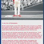Former Phillies SS Jimmy Rollins takes out full-page ad in Philadelphia Inquirer to thank the Philly fans. http://t.co/IXp5QmYRgz