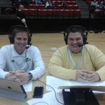 Halftime of @ULM_MBB and @efolmar2 is the halftime guest with @nickwhite67. #TalonsOut http://t.co/7WjvDQFUh1
