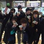 【東京駅開業100周年記念Suica】徹夜までした上に全員最大3枚も買い占めたクズども。 どうせ転売目的だろ。  #suica #JR東日本 #東京駅 http://t.co/DqlI1mbhBm