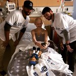 great time visiting the hospital with @hutch_36 today in St. Pete, best of health and luck to all the little ones http://t.co/frck5FqyZX