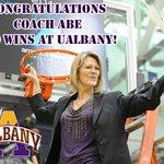 The Great Danes defeat Pepperdine on the road 62-36 today, @COACH_ABE earns win #100 at UAlbany! http://t.co/wifPJG2OZi