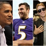 President Obama mixes up James Franco with Joe Flacco, much to the delight of Joe Flacco http://t.co/Y569ru4tiv http://t.co/D1QiXk1GZq