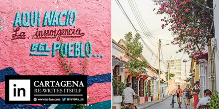 Rediscover Cartagena's most vibrant neighborhood, Getsemaní. Click for more: via @revista_in