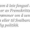 God morgen. @Aftenposten mener: Vi kan skamme oss over vår nyeste vare — fengselsinnsatte http://t.co/0frs7CgOsT IS http://t.co/KItZBxyjWi