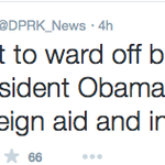 Or not ... RT @greta: This is what the North Korea state media tweeted about Pres #Obama and #Cuba http://t.co/gD4hvtuEzr
