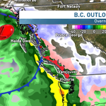 Get ready 4 hvy rain, winds, melting snow this wknd #Vancouver. Perfect holiday forecast #bcstorm http://t.co/MJi1c3XXGy