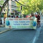 Pasacalles en Avenida Pedro de Valdivia: Semana de los Migrantes #DiversidadProvidencia http://t.co/27yz75I65E