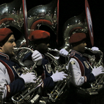 The South Alabama band plays for #JAGNation at the @MGMAdvertiser Street Fest pep rally. http://t.co/ezaGnpSxZo