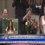 Sobrino de Josefa Errázuriz se casó en municipio http://t.co/Ph7QquRVRE http://t.co/5WfFNJpSlg