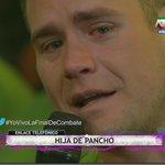 ¡@RodriguezPancho llora al escuchar a su hija! #YoVivoLaFinalDeCombate por @atvpe http://t.co/uUiwKBe0cB