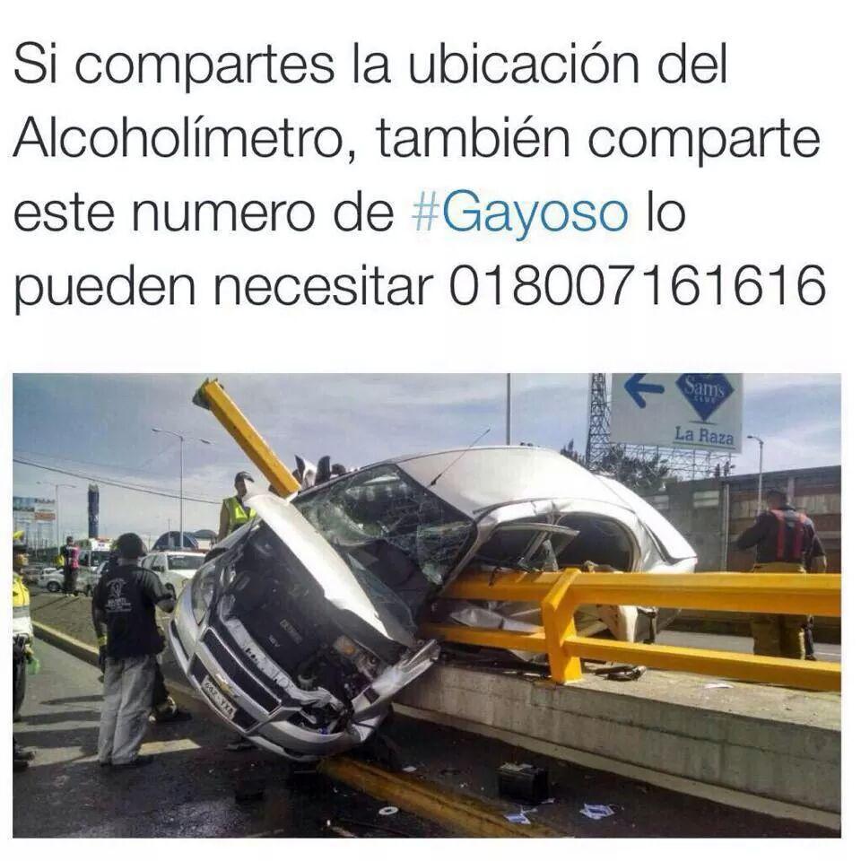 """¿Te gusta reportar el alcoholímetro?, comparte la imagen adjunta, para que hagas """"favor"""" completo. (via @OphCourse) http://t.co/eRbngZMcjT"""