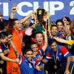 Can Malaysia claim their 2nd #AFFSuzukiCup in 4 years tonight? RT if they can!! http://t.co/mOeWIf8coF